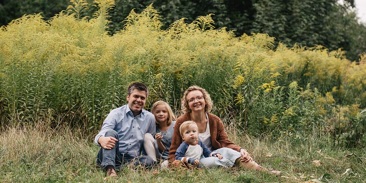 Beste Fotolocation für Familienfotos