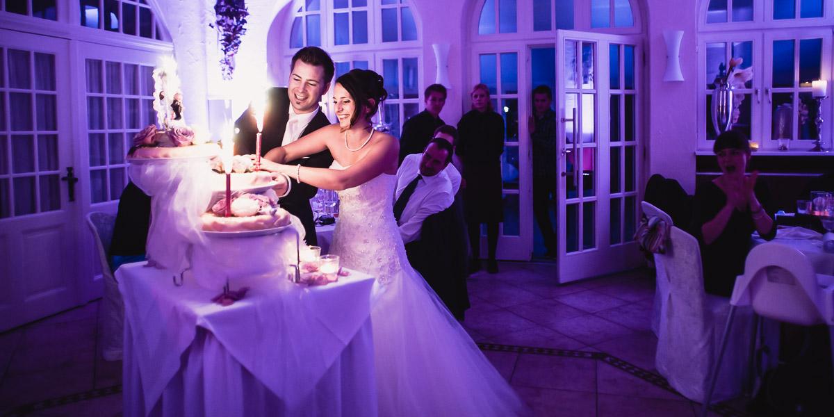 Hochzeitsfotos Hochzeitstorte